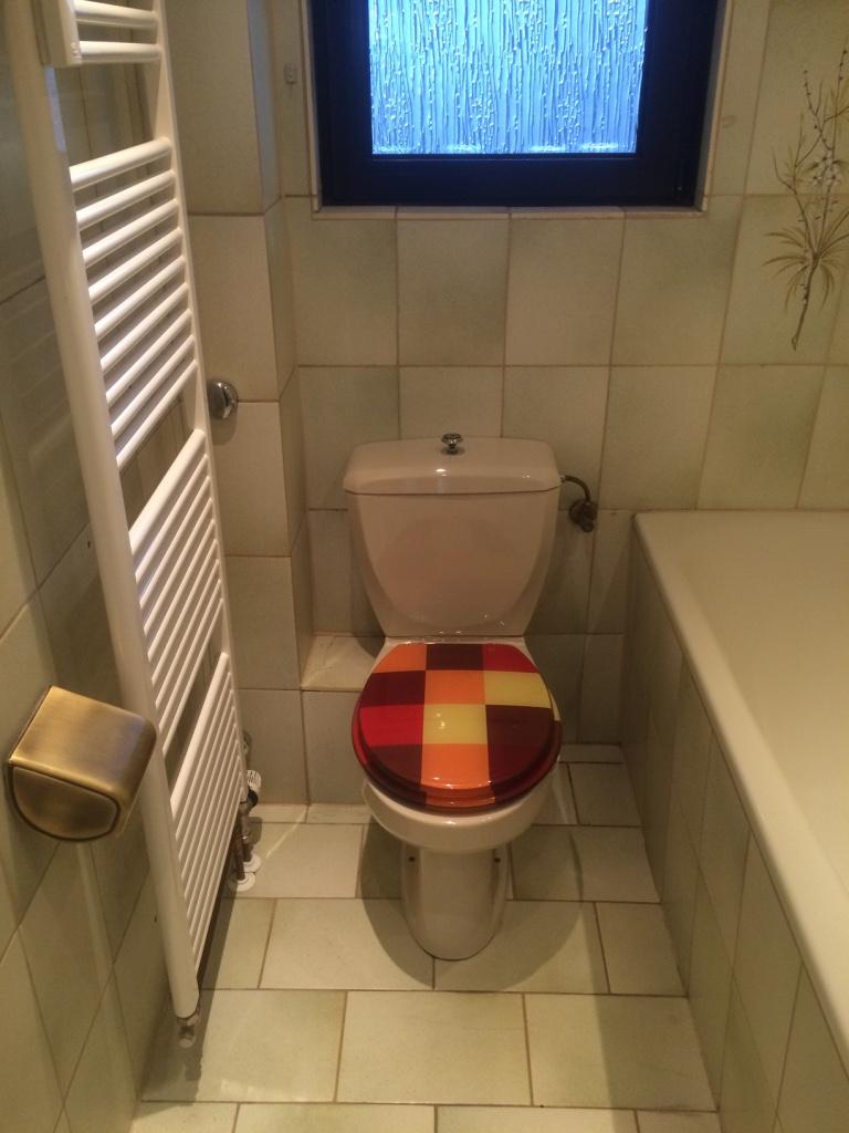 60er Jahre Badezimmer